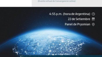Participá del panel de Prysmian en el Evento Virtual de Convergencia Latina