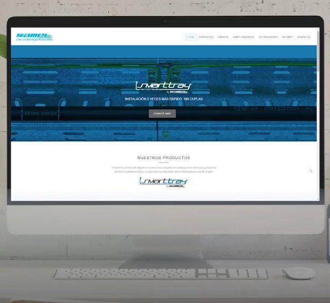 Lanzamiento: Samet presenta su nueva web