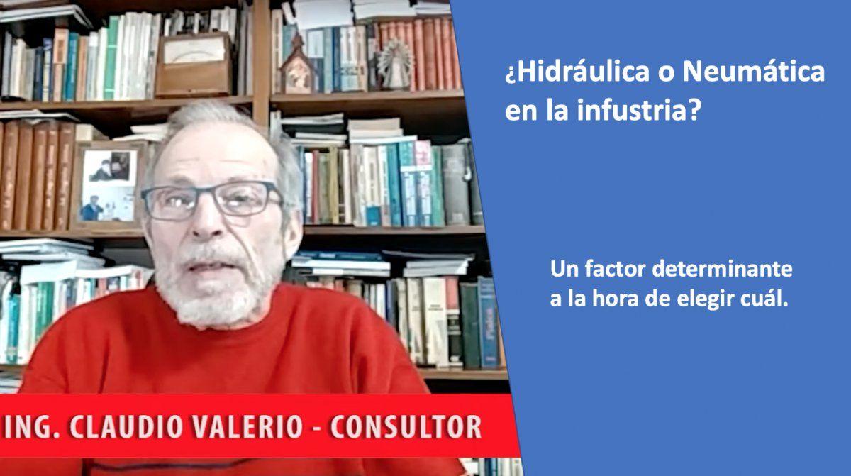 Hidráulica y Neumática de la mano del Ing. Claudio Valerio
