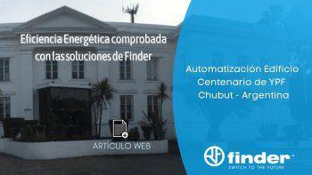 Eficiencia Energética comprobada con las soluciones de Finder