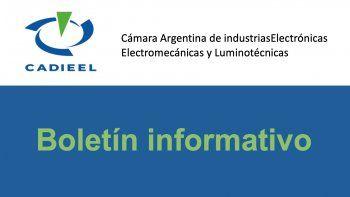 Resumen de noticias de CADIEEL para las empresas del sector eléctrico