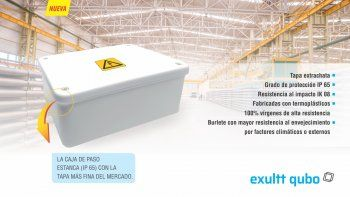 Exultt lanzó la nueva línea de cajas de paso estancas exultt qubo
