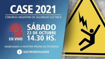 CASE 2021 - Primer Congreso Argentino de Seguridad Eléctrica