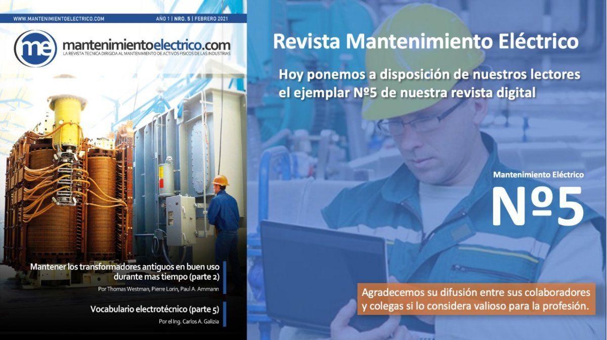 Revista Mantenimiento Eléctrico