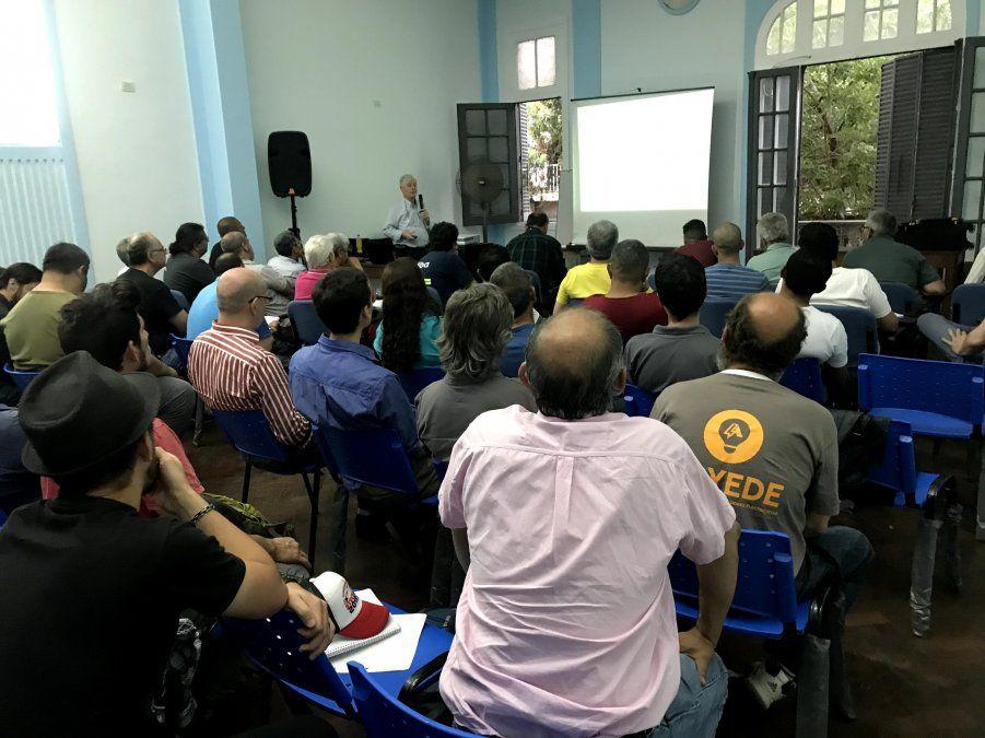 ACYEDE despidió 2019 con una conferencia del ingeniero Galizia