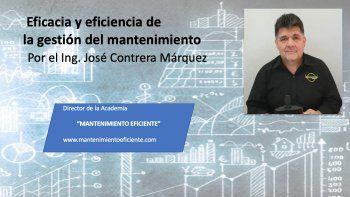 Gestión del mantenimiento - Eficacia y eficiencia parte Nº2