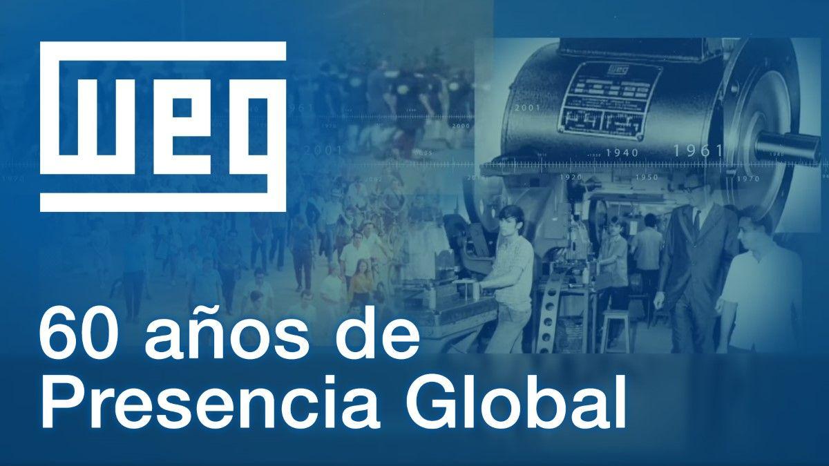 WEG cumplió 60 años de presencia global y continúa con su plan de expansión