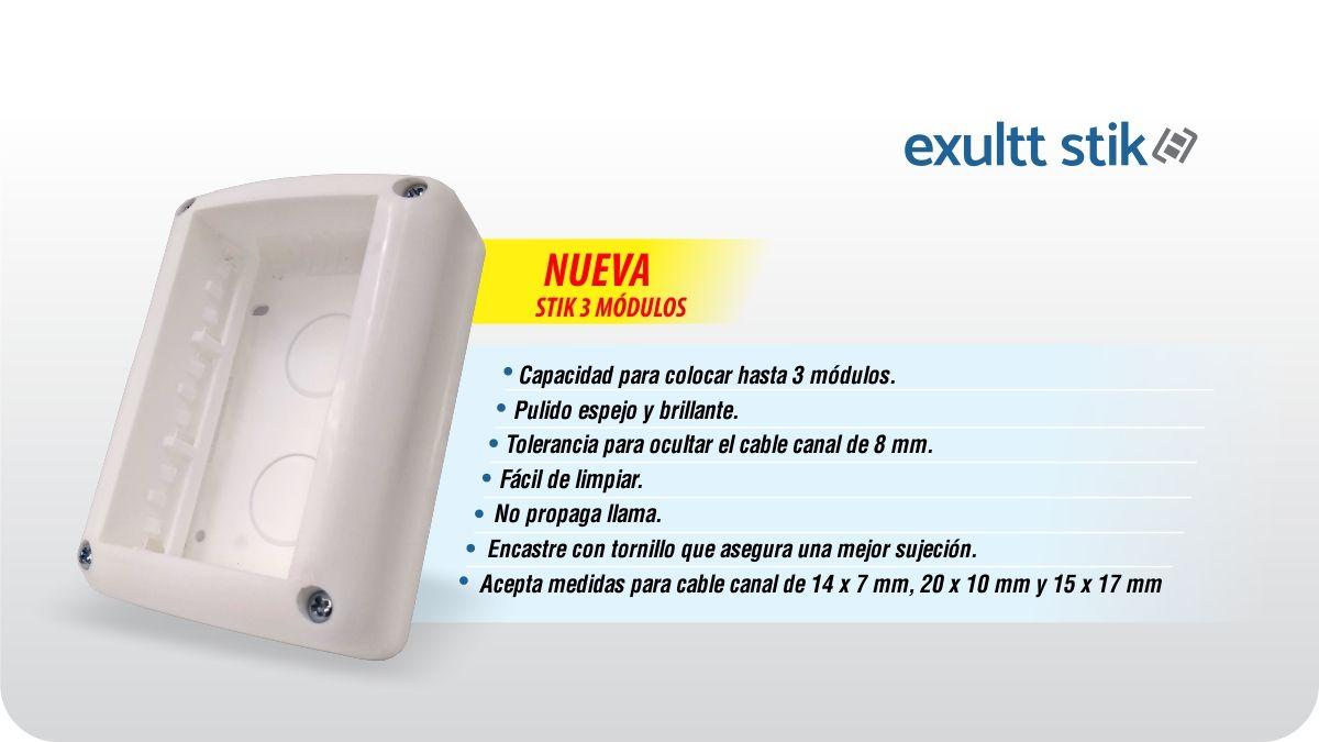 Presentamos la nueva Exultt Stik 3 módulos