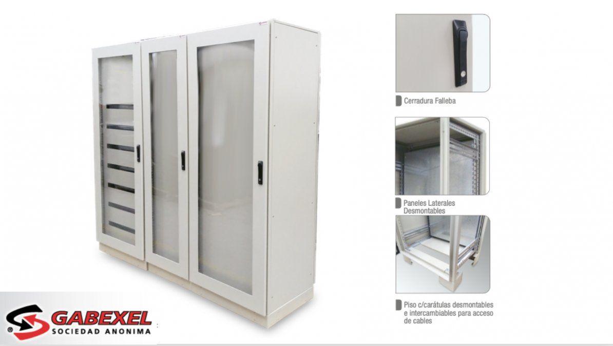 Gabexel SA. línea ARMA armarios modulares autoportantes