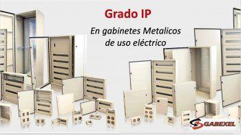 Grado IP en gabinetes Metálicos