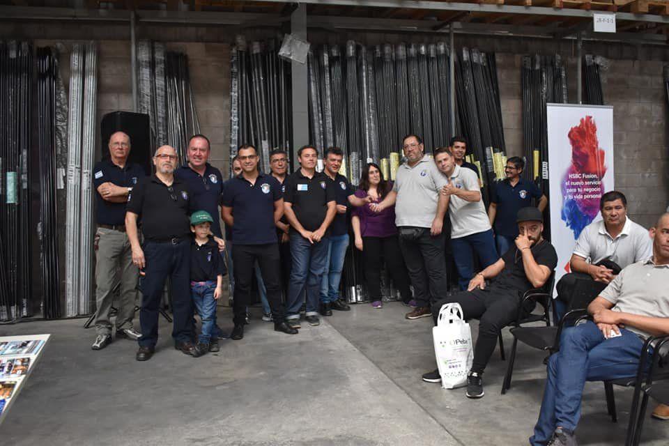 Las fotos del festejo del Día del Instalador Electricista