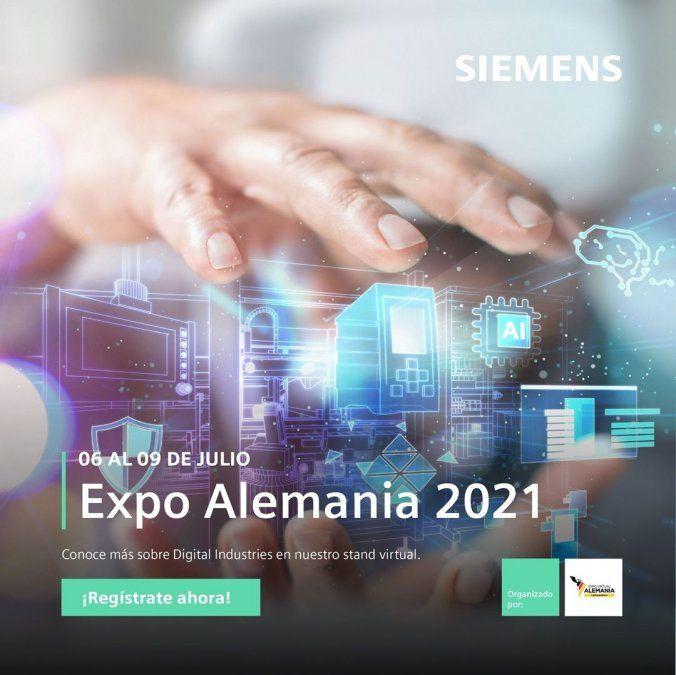 Siemens participará de Expo Alemania 2021