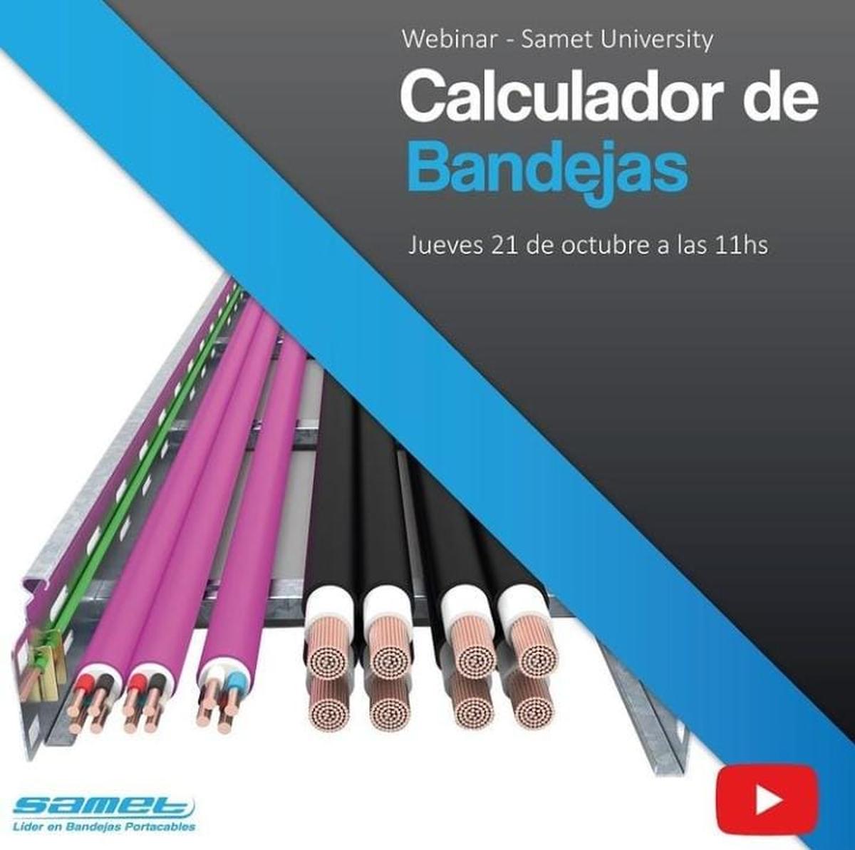Curso sobre el Calculador de Bandejas Portacables de Samet