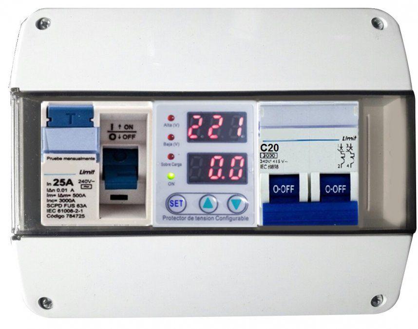 ¿Por qué es importante usar un protector de tensión permanente en una instalación eléctrica?