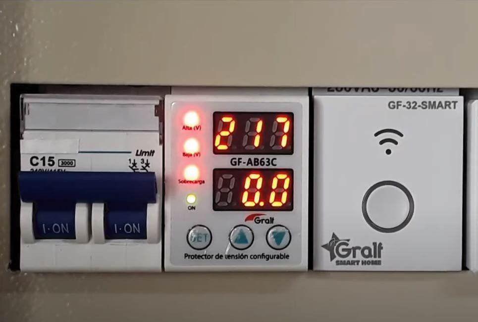 Protección de tensión en instalaciones eléctricas