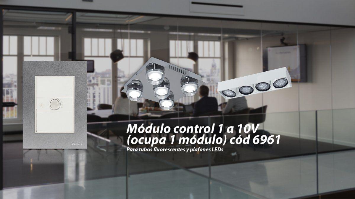 Así es el Módulo control de 1 a 10V de Cambre