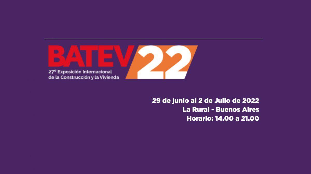 BATEV confirma su fecha para el 2022