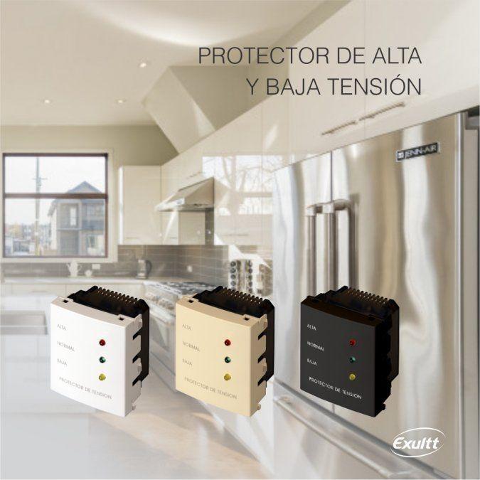 Protector de alta y baja tensión 220V de Exultt
