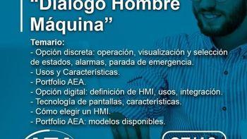 ¿Querés conocer más sobre Diálogo Hombre-Máquina? Webinar gratuito de AEA