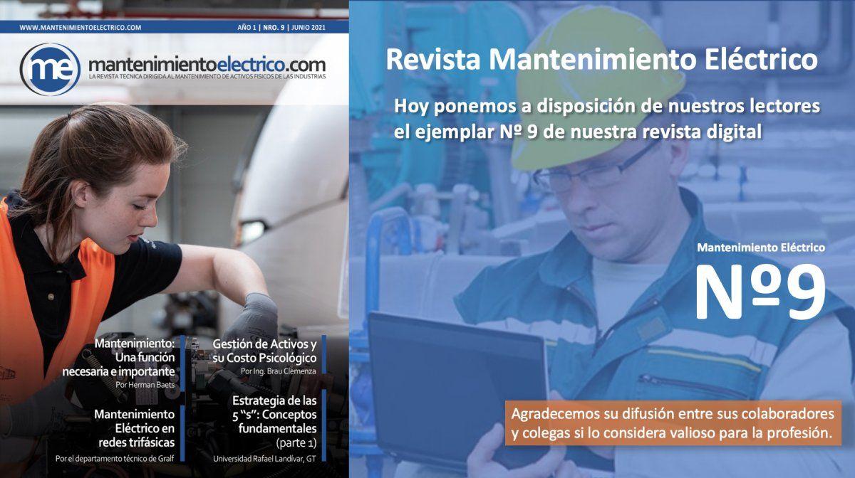 Revista Mantenimiento Eléctrico  Nº 9   Junio 2021