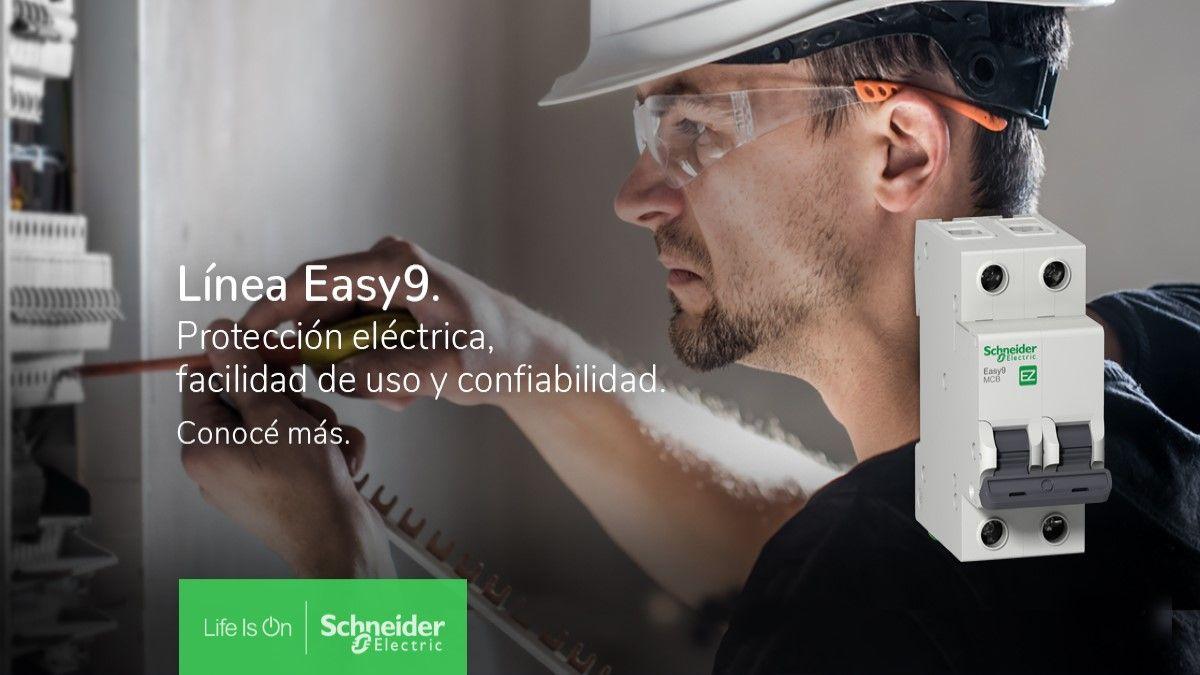 Descubrí la solución completa Easy9 de Schneider Electric: Protección eléctrica, facilidad de uso y confiabilidad
