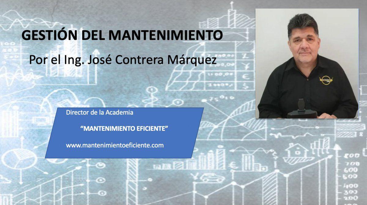 LA GESTIÓN DEL MANTENIMIENTO parte Nº1