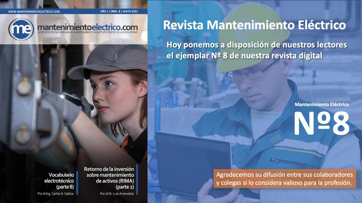 Revista Mantenimiento Eléctrico  Nº 8 | Mayo 2021